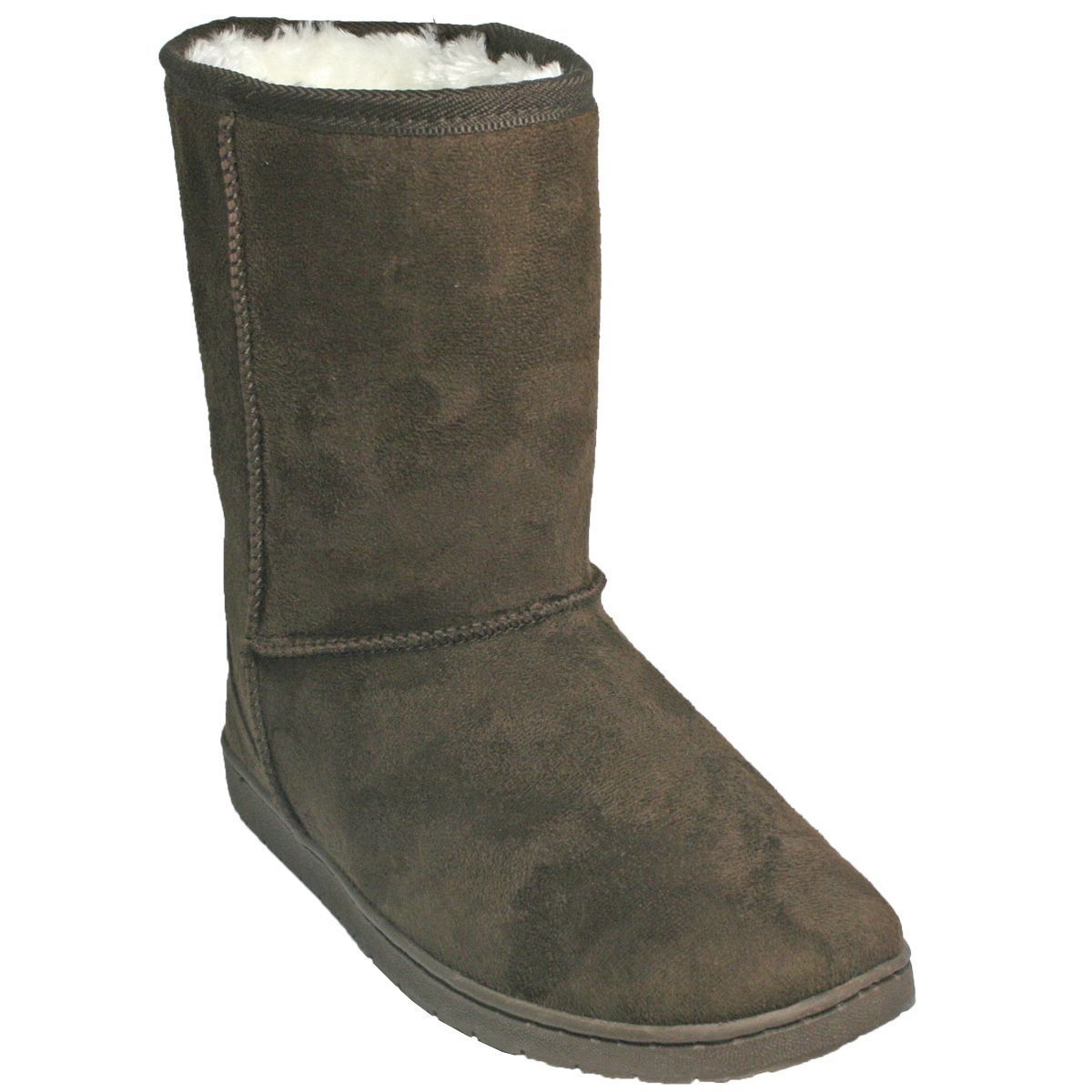 Women's DAWGS 9  Microfiber Boots Choolate Size 6  NC62E-M14