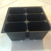 Seedling Seed Starter Plastic Nursery Trays