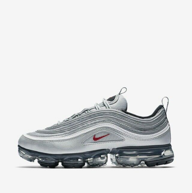 Nike Air VaporMax 97 OG Silver Bullet 2018 AJ7291-002 w/Receipt Comfortable New shoes for men and women, limited time discount