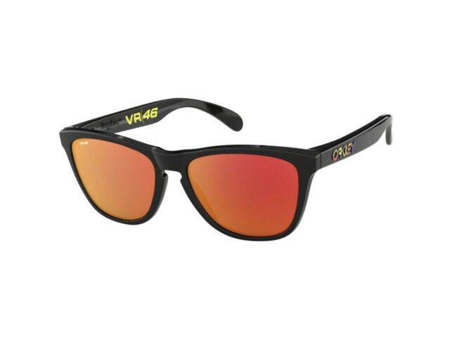 348775139c Oakley gafas de Sol Frogskins Oo9013-e6 negro pulido Prizm Rubí ...