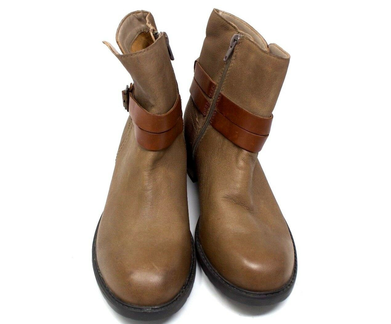 Clarks Brown Brown Brown color Wrap Ankle Boot Women shoes Size 6 20ec4c