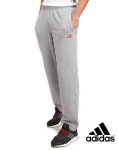 Homme Gris Essential Adidas Fleece Pantalon Moyenne Taille w8nXPk0O