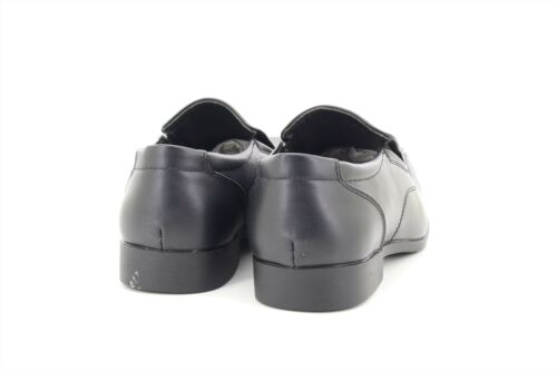Greenwood KIRK Mens Smart Faux Leather Formal Slip On Shoes