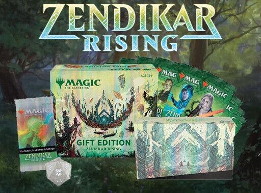 MTG Zendikar Rising Gift Edition Bundle Magic the Gathering *Pre-Order* 11/13/20