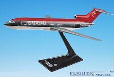 Northwest (89-03) 727-200 Airplane Miniature Model Plastic Snap-Fit 1:200