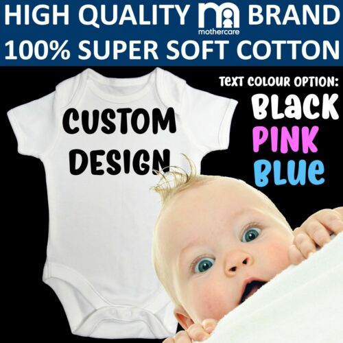 Bodysuit Personalised Baby Shower Gift Your Text Here Funny Vest Grow custom