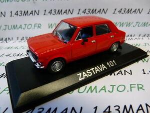 BAL1H-Voiture-1-43-IXO-DEAGOSTINI-Balkans-ZASTAVA-101-Fiat-128-simca-1100