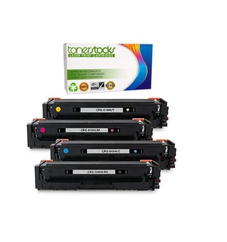 4-PACK Compatible 046 Toner for Canon MF735Cdw MF733Cdw MF731Cdw LBP654Cdw Set