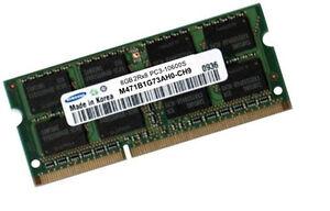 Samsung-m471b1g73qh0-ch9-8gb-ddr3-SODIMM-Laptop-RAM-1333-MHz-204pin-pc3-10600s