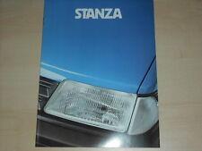 60750) Nissan Datsun Stanza Prospekt 09/1981
