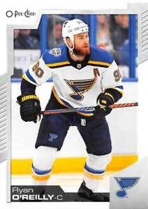 Louis Blues 2020-21 O-Pee-Chee OPC Hockey Playing Cards #6-DIAMONDS Ryan OReilly St