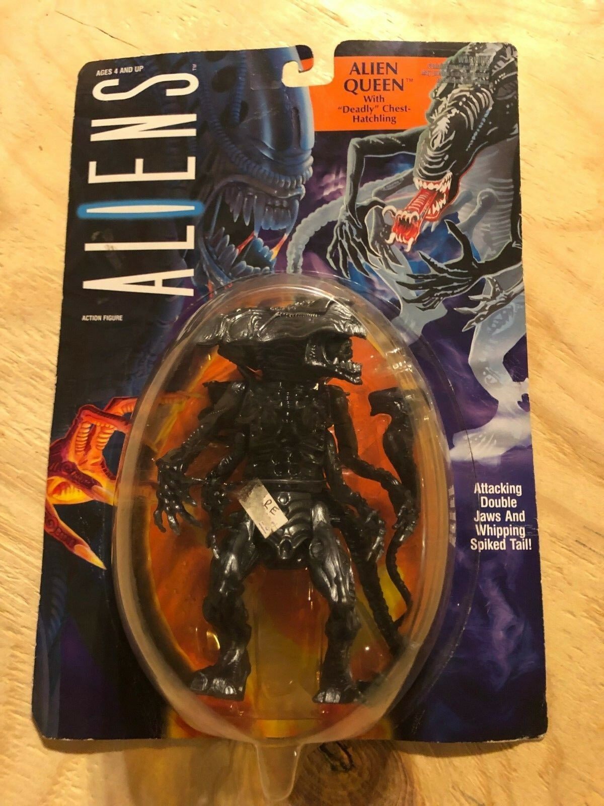 Aliens Alien Queen Action Figure Toy Kenner 1992 Fox Film Ripley TB3