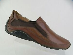 COLE-HAAN-Brown-Sz-10-5-M-Men-Gore-Slip-On-Driving-Moccasin-Loafers