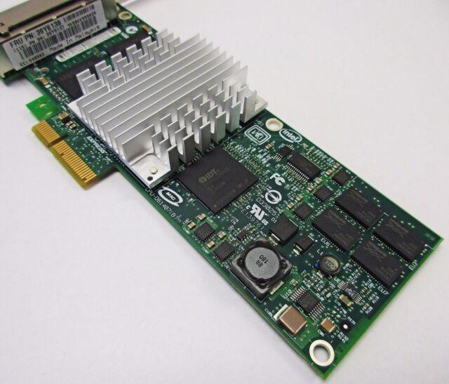 IBM INTEL PRO/1000 PT QUAD PORT PCIe GIGABIT NIC HBA SERVER ADAPTER CARD  39Y6138