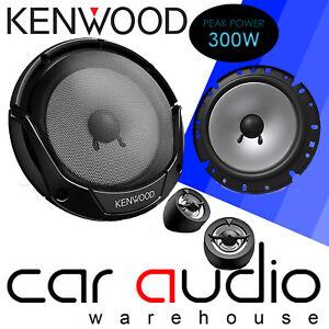 16cm 2-Wege Lautsprecher Einbauset f/ür Opel Astra F,G,H Kenwood KFC-E170P JUST SOUND best choice for caraudio