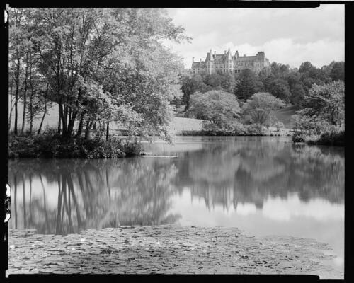Biltmore,estate,Asheville,water bodies,NC,North Carolina,Architecture,South,1938