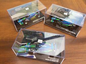 MINICHAMPS-940405-941605-BENETTON-B194-F1-Schumacher-25th-Anniversary-cars-1-43
