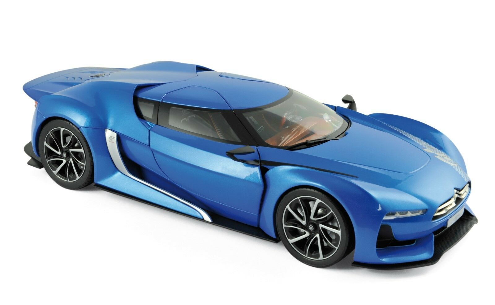 GT BY CITROEN 2008 Electic Blu 1:18 NOREV 181613 NUOVO & OVP