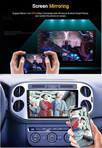 """10.1/"""" Android 7.1 Bluetooth 2DIN Car Stereo Radio MP5 Player WiFi GPS Navigation"""