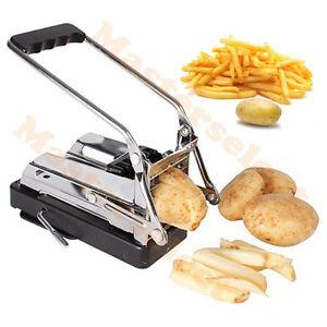 Coupe frites presse patate trancheuse pomme de terre avec ventouse 20 coups ebay - Coupe pomme de terre pour frite ...
