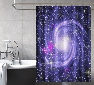 Home & Garden Trustful 3d Starlight Swirl 8 Shower Curtain Waterproof Fiber Bathroom Windows Toilet Fragrant Aroma
