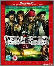 PIRATES OF THE CARIBBEAN:ON STRANGER TIDES*3D + BLURAY