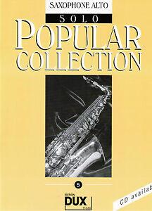 Altsaxophon-Noten-Popular-Collection-5-leicht-leMi-Saxophon-Alt-in-Es