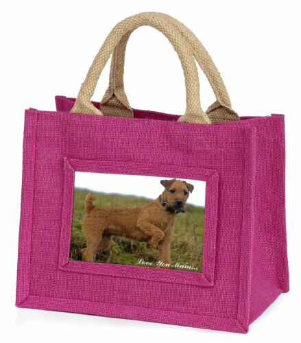 Lakeland Terrier 'Love You Mum' Little Girls Small Pink Shopping B, ADLT1lymBMP