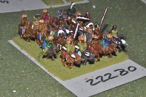 15mm Acw / Indian - Old West Warriors Cavalerie à 20 chiffres (22280)