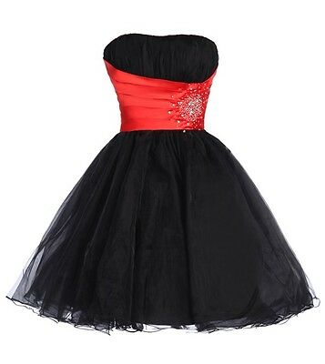 2015~ Masquerade Sexy Short Formal Prom Cocktail Ball Evening Party Dresses Gown