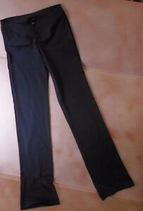 NWT Bloch Dance black Jazz pants vfront microfiber Small ...