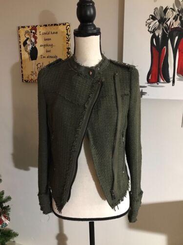 Giacca Gomito 900 Petto Blazer Doppio Khaki Patch Zara A Donna 8061 YvITI