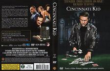 Cincinnati Kid (1965) DVD Ed. Warner Italiana DVS Z8 66986 Fuori Catalogo OOP