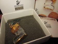SWAROVSKI CRYSTAL CHRISTMAS MEMORIES SANTA'S BOOT ORNAMENT WITH BOX