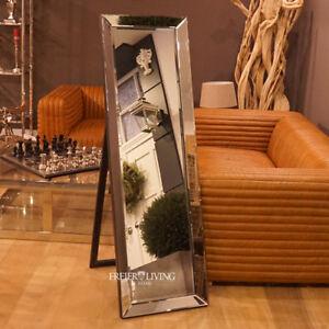 Das Bild Wird Geladen Standspiegel Spiegelglas Spiegelrahmen Luxus  Schlafzimmer Bad Wc Deko