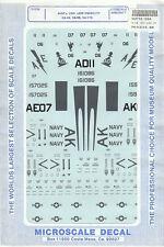 1/72 MicroScale Decals A-6E Intruder VA-42 VA-55 VA-176 72-534