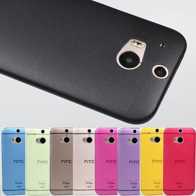 Ultra thin Simple style dirt proof slim Matte Case cover skin for HTC One M8 HOT