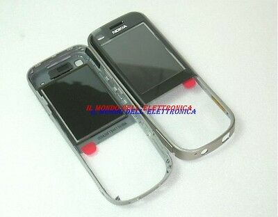 COVER GUSCIO VETRINO FRONTALE PER DISPLAY ORIGINALE NOKIA 6720 C CLASSIC GREY