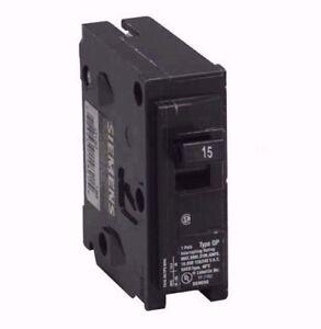 siemens q115 breaker, 15a, 1p, 120 vac, plug in 690003227339 ebayimage is loading siemens q115 breaker 15a 1p 120 vac plug
