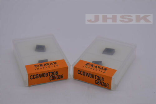 2pcs CCGW09T308 CBN30G CCGW32.52 CBN30G  High hardness steel processing