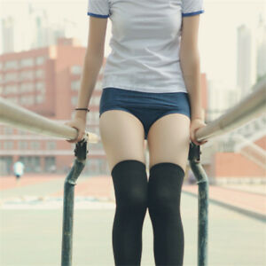 Japanese School Uniform Girl Sportwear Gym Suits Short Bloomers