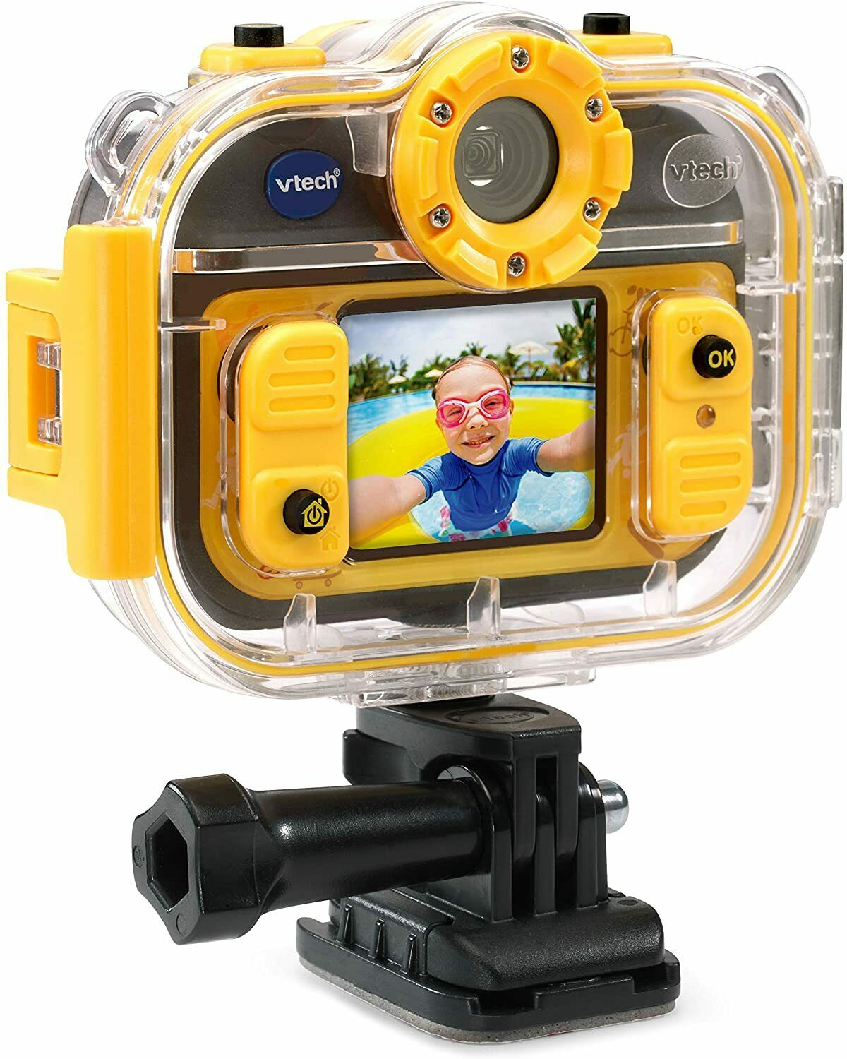 VTech Kidizoom Action Cam 180 [Childrens Action Camera Waterproof microSD] NEW