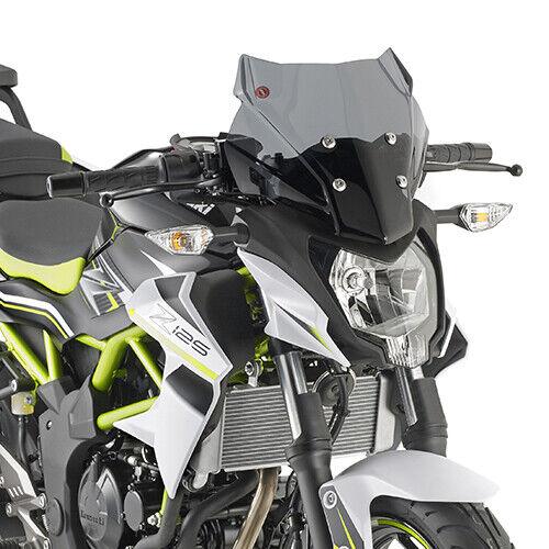4125S Givi Parabrisas Fumé para Kawasaki Z 125 2019
