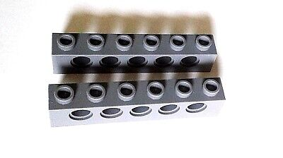 Brick 1 x 6 with Holes lego 3894 Technic