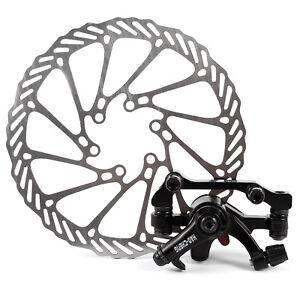 Mechanical-Disc-Brake-Caliper-Front-Rear-160mm-Standard-Rotors-MTB-Road-Bike