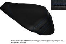 ROYAL BLUE STITCH LEATHER CUSTOM FITS APRILIA RSV4 R 1000 09-15 REAR SEAT COVER