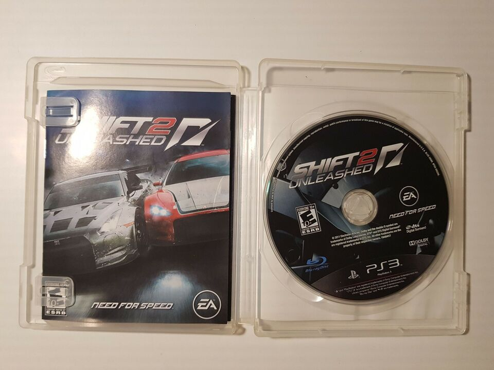 Need for speed shift unleashed 2, PS3