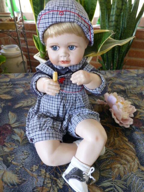 Muñeca un artista numerada y adorable como nuevo muñeca ANDREW