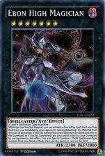 YuGiOh Ebon High Magician - TDIL-EN052 - Super Rare - 1st Edition Near Mint