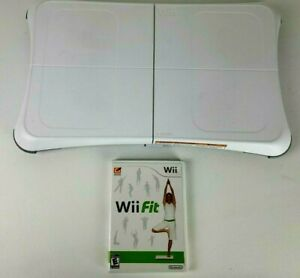 Wii Fit with Balance Board - For Nintendo Wii With Wii Fit